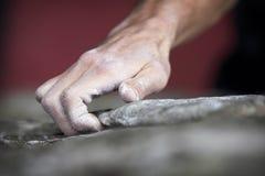 wspinaczkowe mienia skały serie Fotografia Stock