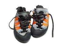 wspinaczkowi buty Obrazy Stock