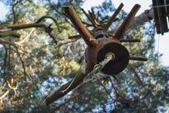 Wspinaczkowy element dla wspinaczkowego up w wspinaczkowym lesie Obraz Stock