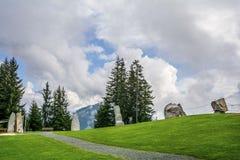 Wspinaczkowy park w Tirol Fotografia Royalty Free