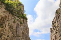 wspinaczkowych kępek rockowe arkany dwa Zdjęcie Royalty Free
