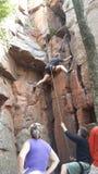 wspinaczkowych kępek rockowe arkany dwa Obraz Stock