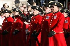 Wspominania Dzień Parada, 2012 Obrazy Royalty Free