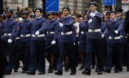 2015, wspominanie dnia parada, Londyn Obrazy Stock