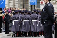 2015, wspominanie dnia parada, Londyn Obraz Stock