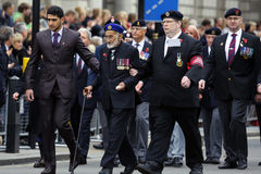 2015, wspominanie dnia parada, Londyn Zdjęcie Stock
