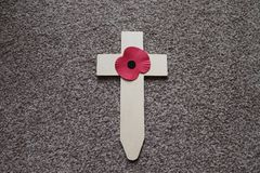 Wspominanie Niedziela usługa niesie krzyż dla tamto gubiliśmy obrazy royalty free
