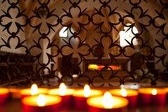 Wspominanie świeczki Obraz Royalty Free