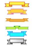 wstążki ilustracji