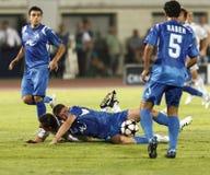 wstawia się Debrecen ligowego levski Sofia uefa vs Zdjęcie Royalty Free