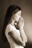 wstawiennictwo kobieta Zdjęcie Royalty Free