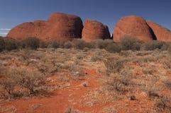 Wüsten-Felsen-Anordnung Stockfoto