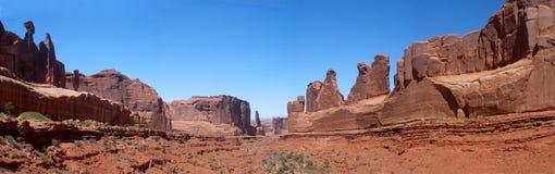 Wüstenlandschaft Stockfotos