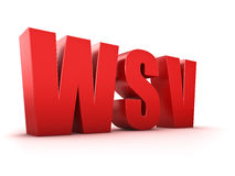 WSV royalty-vrije illustratie