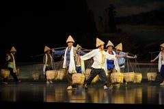 Wszędzie Łomota uderzenia Jun Jiangxi operę bezmian Zdjęcia Royalty Free