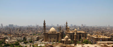 wszędzie meczety Fotografia Royalty Free