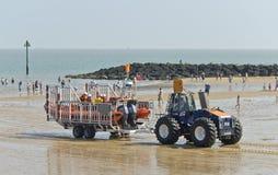 Wszczynać lifeboat Obrazy Royalty Free