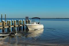 Wszczynać przyczepy łódź Zdjęcia Royalty Free