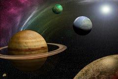 Wszechświat Obraz Royalty Free