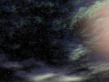 wszechświat. ilustracja wektor