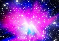 Wszechświat gwiazdy Obrazy Stock