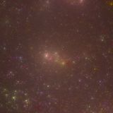 Wszechświat Sir Douglas Świeży część 2 | Fractal sztuka Fotografia Stock