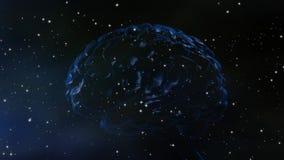 Wszechświat umysł royalty ilustracja