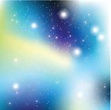 Wszechświat z gwiazdami Matryca jarzyć się gwiazdy ilustracja wektor