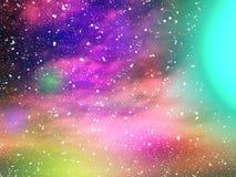 wszechświat Zdjęcia Royalty Free