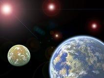 wszechświat. Zdjęcie Stock