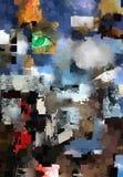 wszechświat abstrakcyjne Zdjęcia Stock
