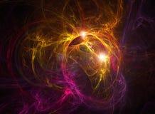 wszechświat abstrakcyjne Obrazy Royalty Free