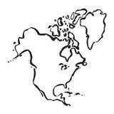 wszyscy również Ameryki mogą zawierają mapy flagę północy stanów jest u oddzielającego używać indywidualnie wektora, Fotografia Royalty Free