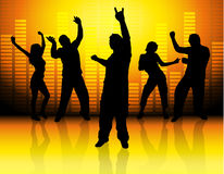 wszyscy tańca Fotografia Stock
