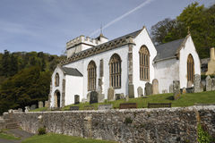 Wszystkie świętego kościół, Selworthy Fotografia Stock