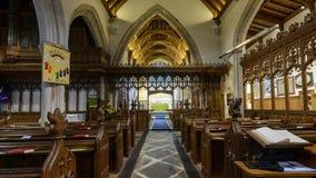 Wszystkie świętego Kościelny Nave A Obrazy Stock