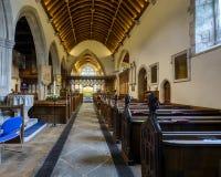 Wszystkie świętego Kościelny Nave C Zdjęcia Royalty Free