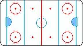 wszystkie backgrou zmielony hokeja lód wykłada biel ilustracji