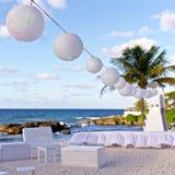 Wszystkie biały ślub Zdjęcia Stock