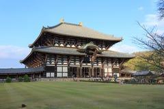 wszystkie Buddha budynku wielkiej hali dziedzictwa Japan ji wielkiego Nara miejsca struktury todai unesco drewniany świat Obrazy Royalty Free