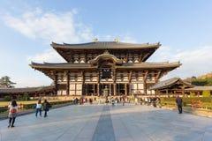wszystkie Buddha budynku wielkiej hali dziedzictwa Japan ji wielkiego Nara miejsca struktury todai unesco drewniany świat Obrazy Stock