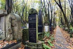 wszystkie dni christiana cmentarz special Poland obraz stock