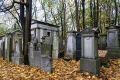 wszystkie dni christiana cmentarz special Poland fotografia stock