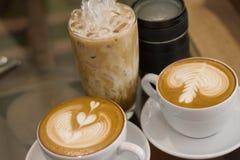 Wszystkie kawa póżno Zdjęcia Royalty Free