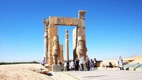 Wszystkie naród brama Persepolis zdjęcie wideo