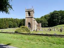 Wszystkie świętego kościół, Brantingham Zdjęcie Royalty Free