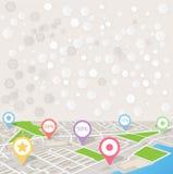 wszystkie zmiany kolorów tła miasta elementów akta łatwe kartografują select bezszwowa warstw oddzielonych próbki wektorowych Zdjęcie Stock