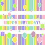 Wszystkiego najlepszego z okazji urodzin Zdjęcie Royalty Free
