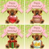 Wszystkiego Najlepszego Z Okazji Urodzin Royalty Ilustracja