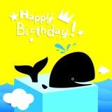 Wszystkiego najlepszego z okazji urodzin karta Obrazy Royalty Free